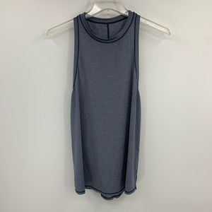 LULULEMON two with one singlet gray tank